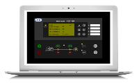 Netbiter Argos Genset Control Panel