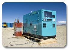 Power generator - remote monitoring