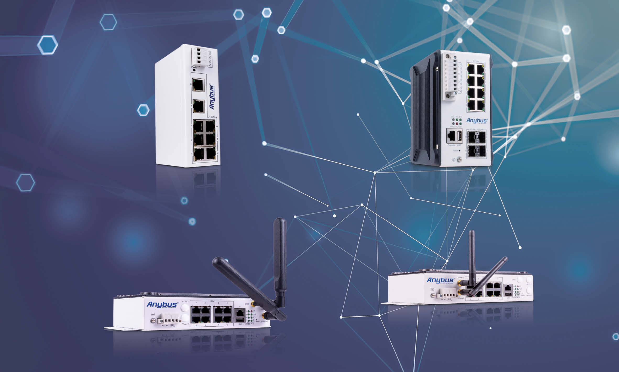 Anybus Switches and Routers
