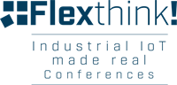 Logo FlexThink_Logo _IIoT made real Conferences-Blue