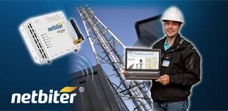 Netbiter — Remote Management of industrial equipment.