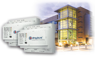 Anybus Modbus to BACnet-KNX