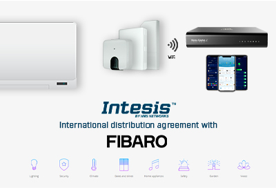 FIBARO distributor for Intesis WiFi-ASCII gateways
