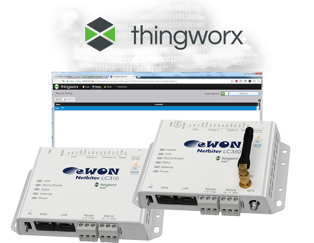 Netbiter-LC-ThingWorx-Cloud