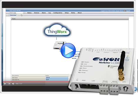 How to configure LC300-series ThingWorx