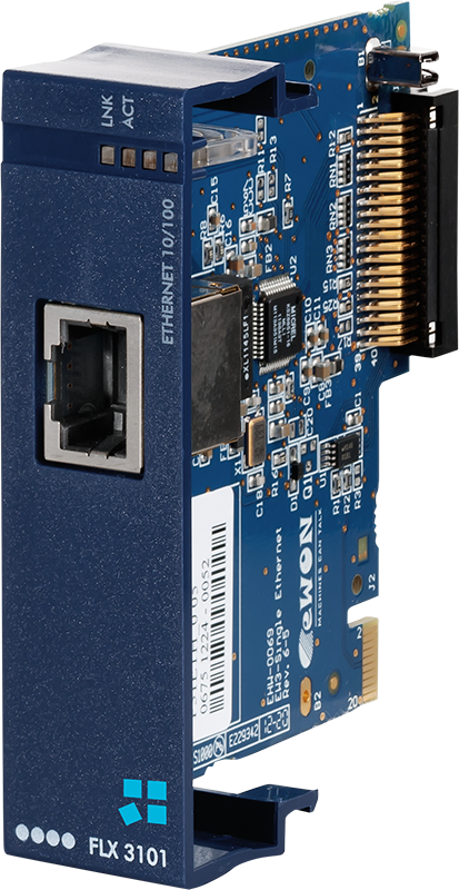 Ewon extension card - FLX 3101 - Ethernet port