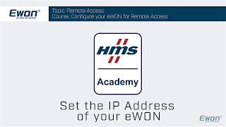 1 - Set the IP address of a Cosy 131 or Flexy