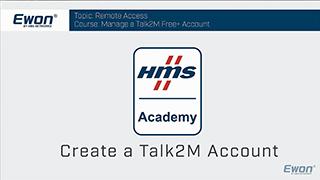 1 - Talk2M - Create a Free+ account