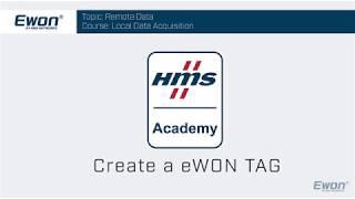 3 - Tags - Create an eWON Tag