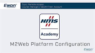 6 - Talk2M - M2Web platform