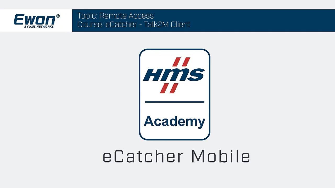 eCatcher Mobile App
