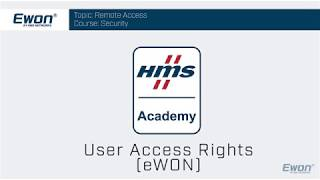 Thumbnail - Ewon Security - User Access