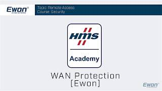 Thumbnail - Security for Ewon - WAN protection