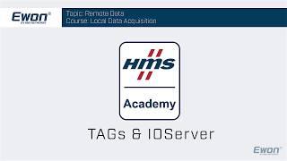 Topic - IO Servers & Tags