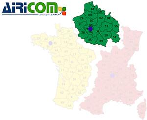 Airicom - Map