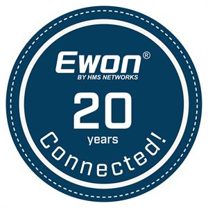 Ewon 20 years_stamp_Blue