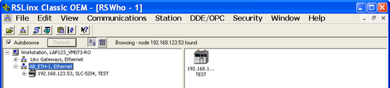 Rockwell - RSLinx - Driver Configuration - Step 3