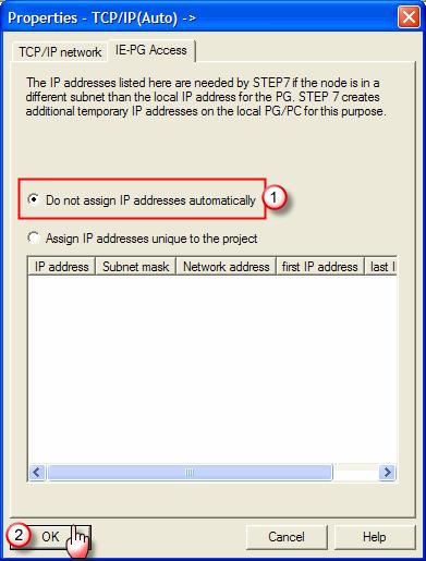 Siemens - STEP 7 -  Software configuration - Step 3
