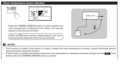 set ambient temperature in a INxxxFGL001Rxx