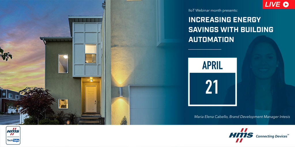 Energy savings with Building Automation - webinar