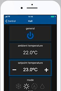 Set point temperature function