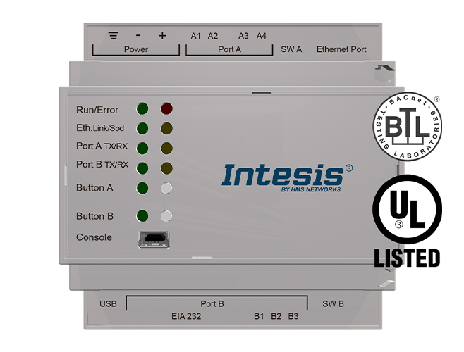 Intesis Automation gateway solution