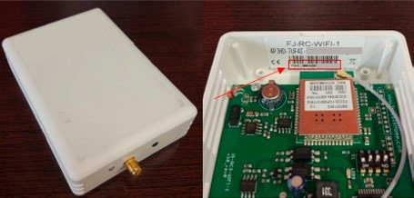 Serial number rc device - AC cloud control