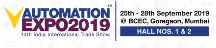Automation Expo Mumbai India - September 2019