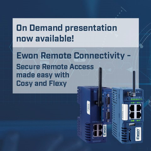 Ewon Remote Connectivity