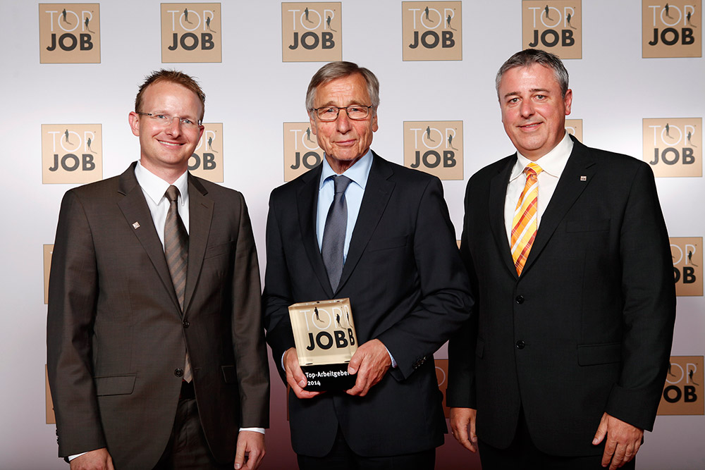 Preisverleihung 2004 Top Job