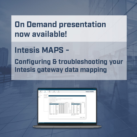 Intesis MAPS - Configuring & troubleshooting your Intesis gateway data mapping