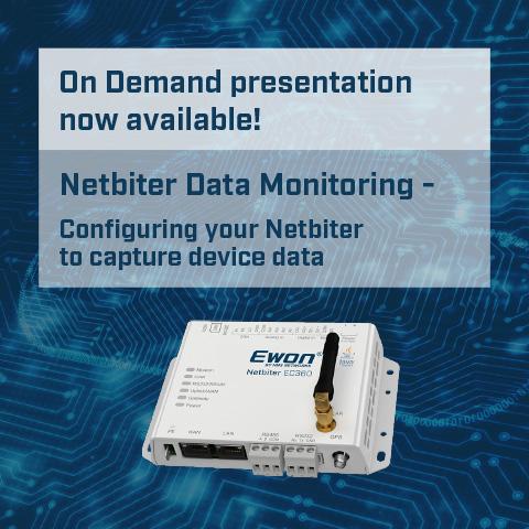 Netbiter Data Monitoring