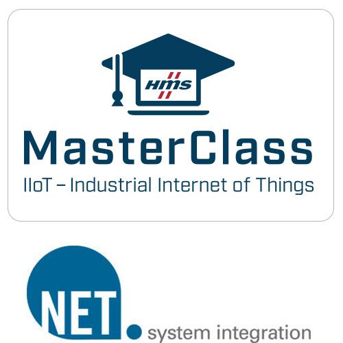 MasterClass Logo + NET AG