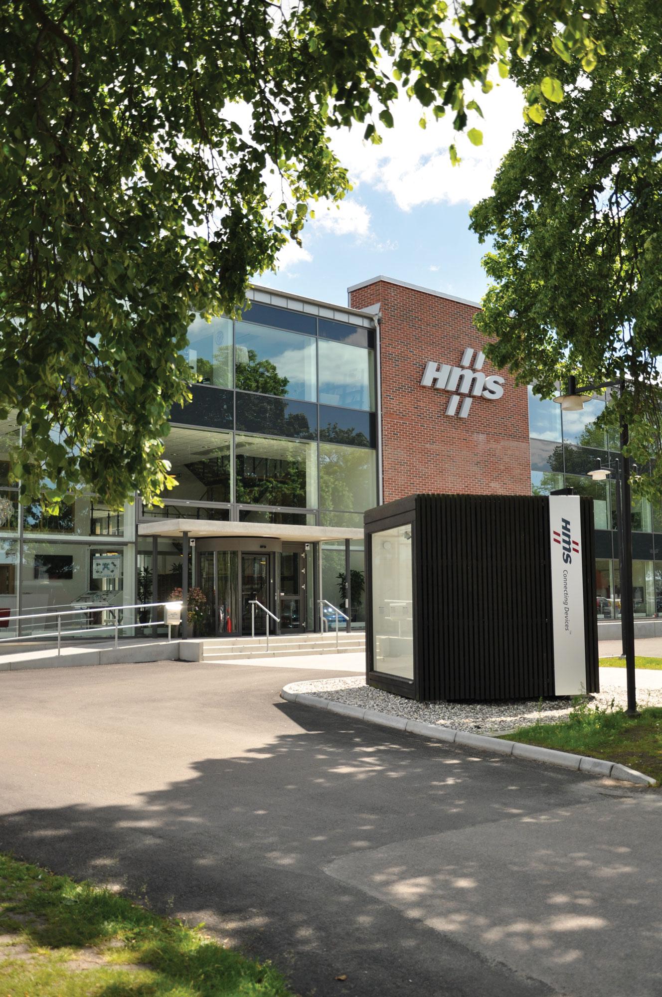 HMS Head Office Halmstad Entrance