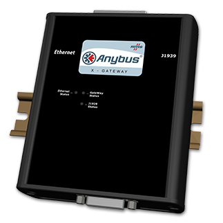 Anybus X-gateway Ethernet - J1939