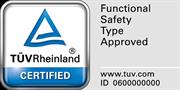 TÜV Certified Logo