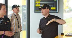Vehicle dynamics engineer Christian Cramer analyzes the driving maneuvers