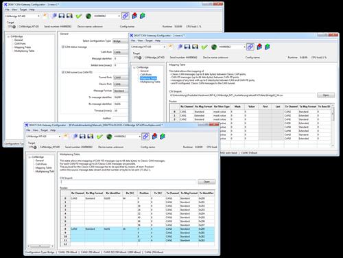 CAN Gateway Configurator