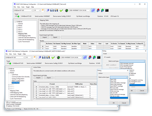 CAN@Net NT and CANbridge NT Configuration Tool
