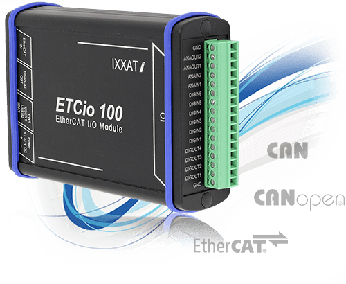 IO Modules for CAN, CANopen and EthertCAT - Title